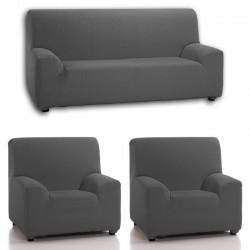 Trío 3+1+1 - Funda de sofá...