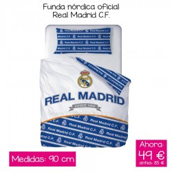 Funda nórdica Oficial Real...