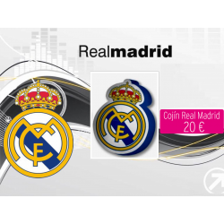 Cojín 3D Real Madrid F.C....