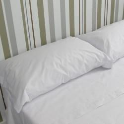 Funda de almohada blanca...