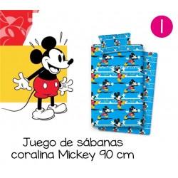 Sábanas coralina Disney